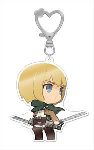 главная фотография Shingeki no Kyojin Big Acrylic Key Ring: Armin