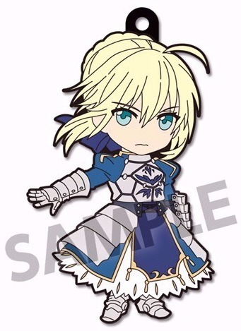 главная фотография Pic-Lil! Fate/Extella Trading Rubber Strap vol.2: Saber