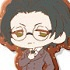 Bungo Stray Dogs Clear Rubber Strap: Ango Sakaguchi