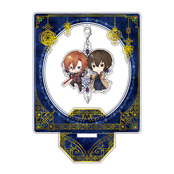 главная фотография Bungo Stray Dogs DEAD APPLE Chain Collection Stand Set: China ver. Dazai & Nakahara