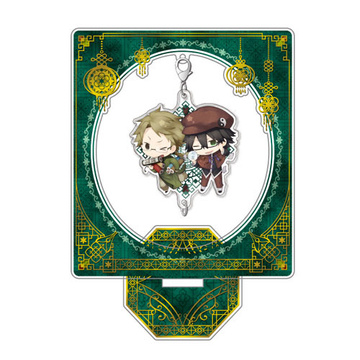 главная фотография Bungo Stray Dogs DEAD APPLE Chain Collection Stand Set: China ver. Kunikida & Edogawa