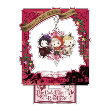 главная фотография Bungo Stray Dogs DEAD APPLE Chain Collection Stand Set: Fairy Tale ver. Little Red Riding Hood Nakajima & Akutagawa & Fitzgerald