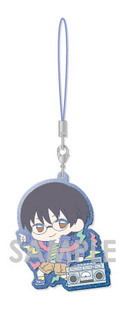 главная фотография Gintama Clear Rubber Strap Vol.2 -Retro Pop-: Shimura Shinpachi