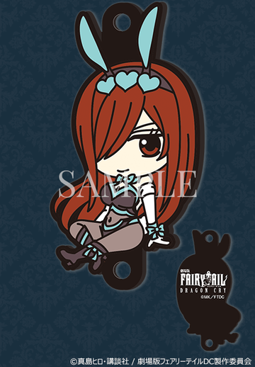 главная фотография FAIRY TAIL Dragon Cry rubber strap Rakuten: Erza Scarlet