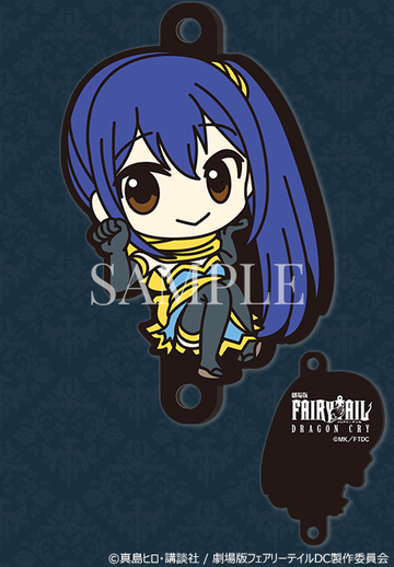 главная фотография FAIRY TAIL Dragon Cry rubber strap Rakuten: Wendy Marvell