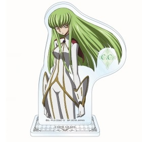 главная фотография Code Geass: Hangyaku no Lelouch Acrylic Plate with Stand ~The LEGEND of GEASS~: C.C.
