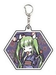 главная фотография Acrylic Keyholder Code Geass Lelouch of the Rebellion III Oudou GraffArt Yukata Ver.: C.C.