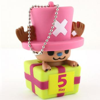 главная фотография One Piece x PansonWorks Chopper Birthday Mascot Figure Ball Chain: May