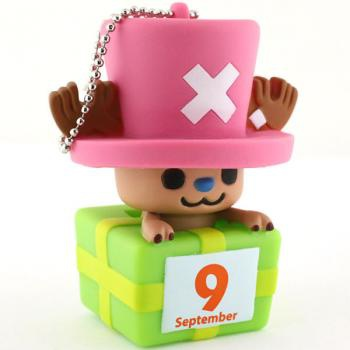главная фотография One Piece x PansonWorks Chopper Birthday Mascot Figure Ball Chain: September