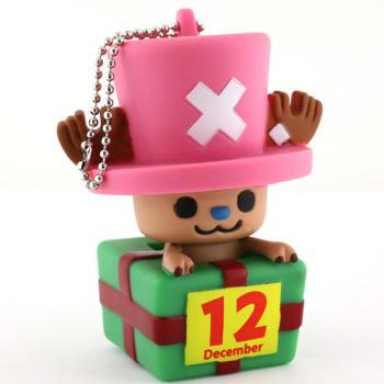 главная фотография One Piece x PansonWorks Chopper Birthday Mascot Figure Ball Chain: December