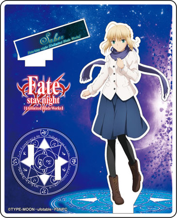 главная фотография Fate/stay night [Unlimited Blade Works] Acrylic Figure Collection: Saber