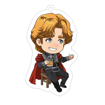главная фотография Legend of the Galactic Heroes Acrylic Keychain LOGH-10: Wolfgang Mittermeyer