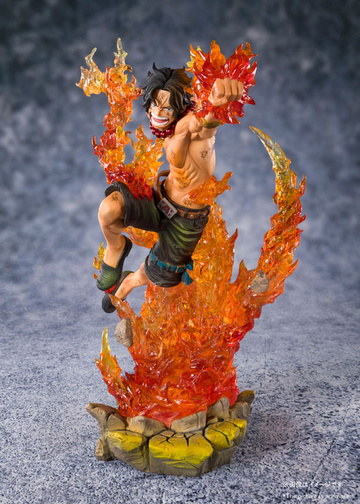 главная фотография Figuarts ZERO Chou Gekisen -Extra Battle- Portgas D. Ace Whitebeard Pirates 2nd Commander Ver.