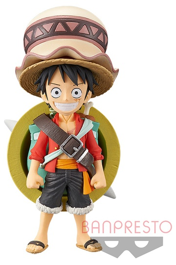главная фотография World Collectable Figure One Piece Stampede: Monkey D. Luffy