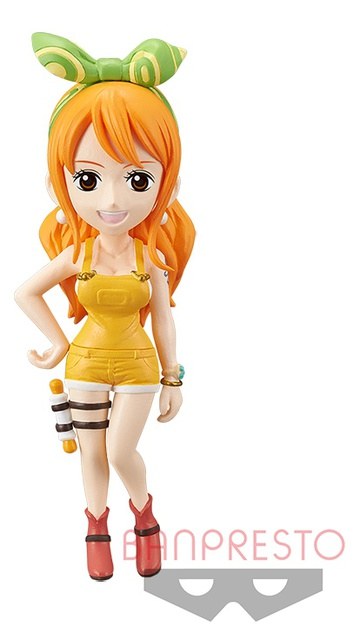главная фотография World Collectable Figure One Piece Stampede: Nami