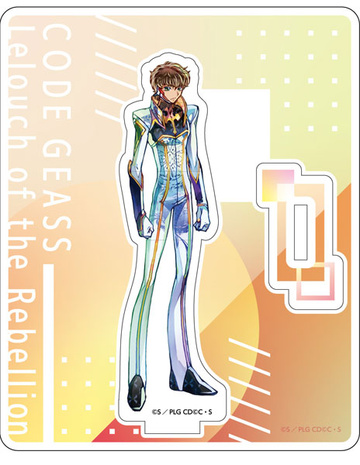 главная фотография Code Geass Lelouch of the Rebellion III Oudou PALE TONE series Acrylic Stand: Suzaku Pilot Suit ver.