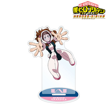 главная фотография My Hero Academia THE MOVIE Heroes Rising New Illustration Acrylic Stand: Ochaco Uraraka