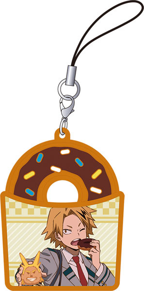 главная фотография My Hero Academia Rubber Strap Collection Donut: Denki Kaminari