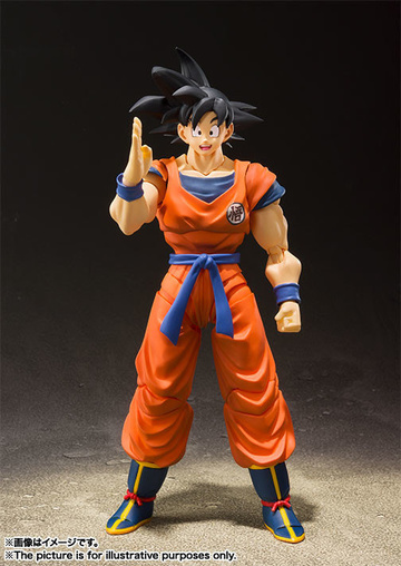 главная фотография S.H.Figuarts Son Goku A Saiyan Raised On Earth ver.