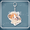 фотография Bungou Stray Dogs Ouasumi Collection Rakuten Collection Kuji Mini Chara Acrylic Keychain: Tanizaki Junichirou & Tanizaki Naomi
