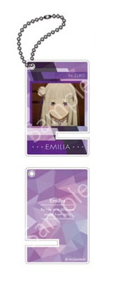 главная фотография Re:ZERO -Starting Life in Another World- Part 2 Trading Acrylic Mini Smartphone Stand: Emilia