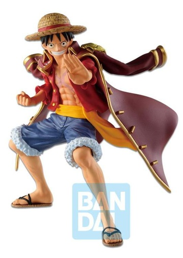 главная фотография Ichiban Kuji One Piece Legends Over Time: Monkey D. Luffy  ~ Roger Cloak Ver. ~