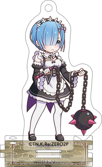 главная фотография Re:ZERO -Starting Life in Another World- Acrylic Keychain w/Stand Collection: Rem