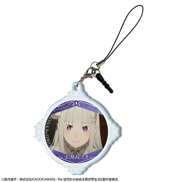 главная фотография Re:ZERO -Starting Life in Another World- 2nd season Acrylic Earphone Jack Accessory: Emilia